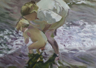 Copy of Sorolla's Bathing on the Beach